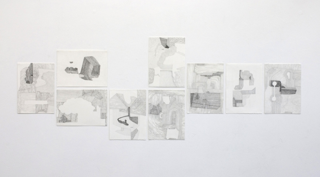 tania rollond possibility series, 2011 pencil on paper